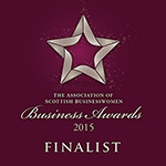 2015 Association of Scottish Businesswomen awards finalist