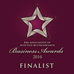 2016 Association of Scottish Businesswomen awards finalist