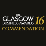 2016 The Glasgow Business Awards commendation