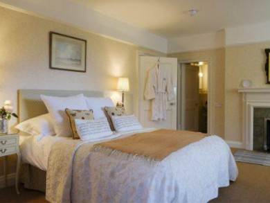 The beautiful Nevis Bedroom at Arisaig House